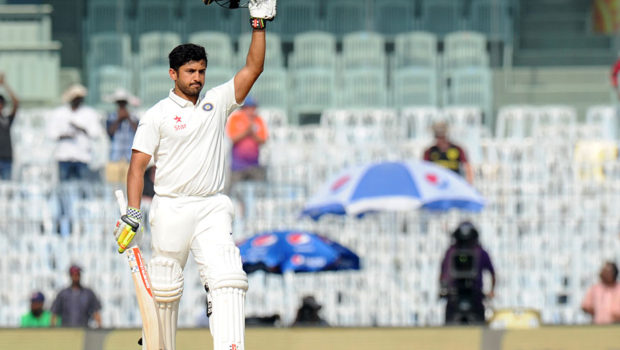 Karun Nair, the future star of Indian cricket. Image: Cricinfo