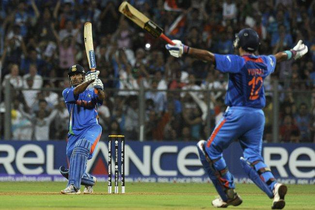 MS Dhoni World Cup 2011 Winning Shot