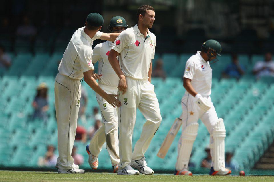 Australian cricketer Jose Hazlewood