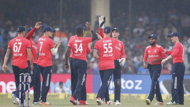 The England T20I team