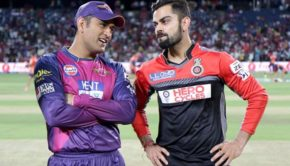 IPL 2016 MS Dhoni and Virat Kohli