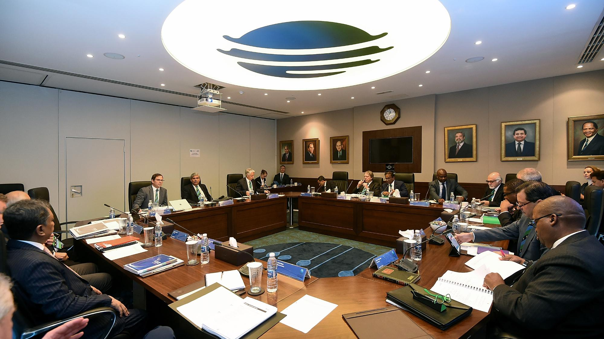 The ICC meeting