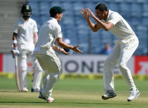 Australia were brilliant halting Virat Kohli. Image Courtesy: ICC