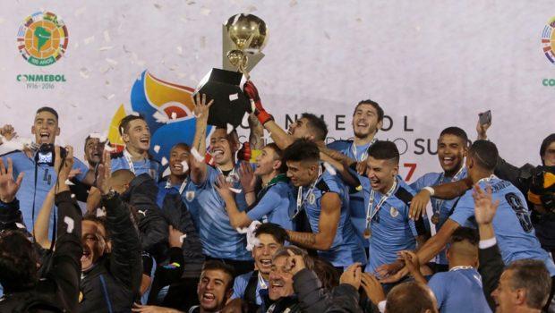 Uruguay's new golden generation shines in U-20 win