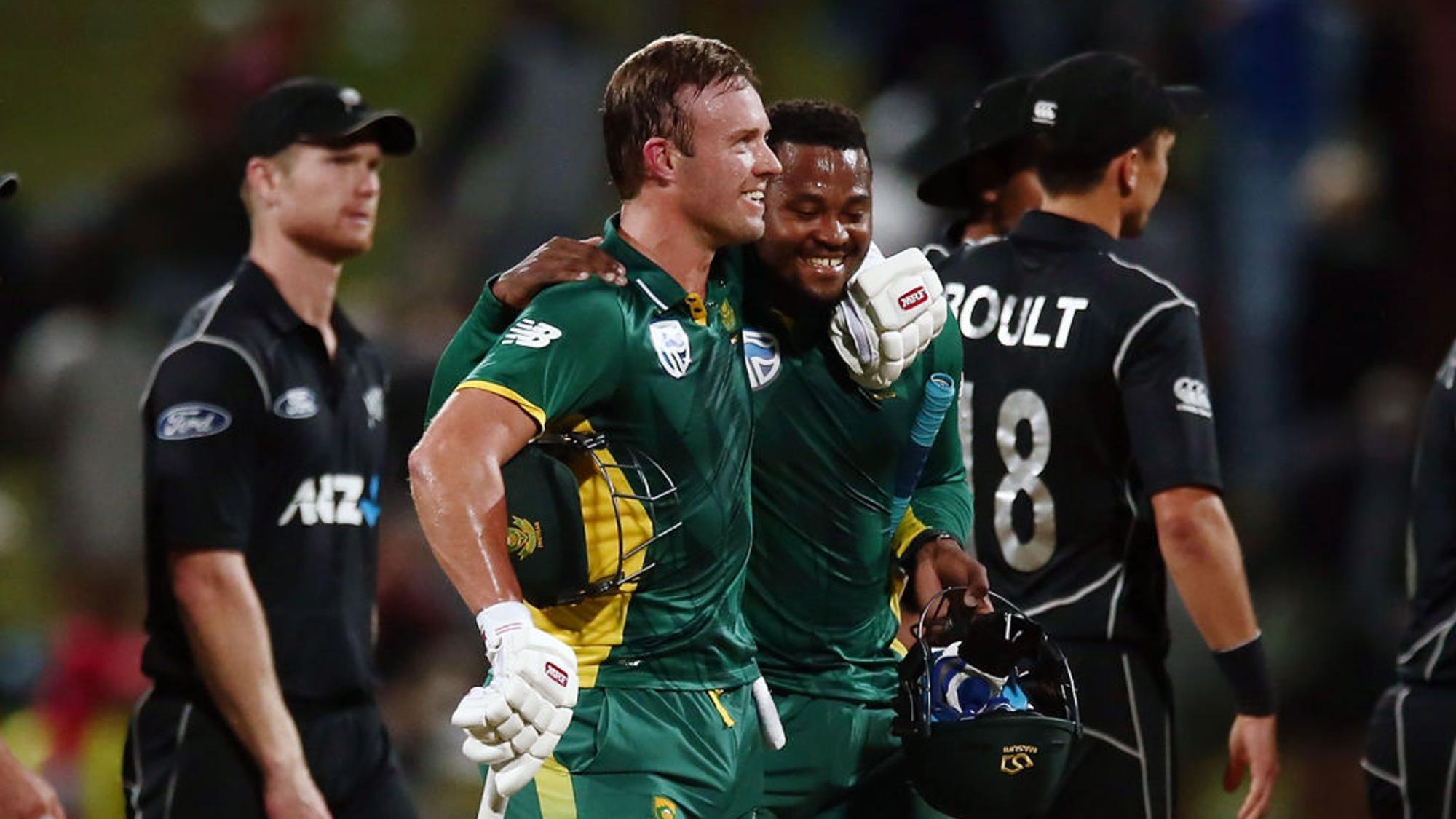 South Africa v New Zealand 1st ODI