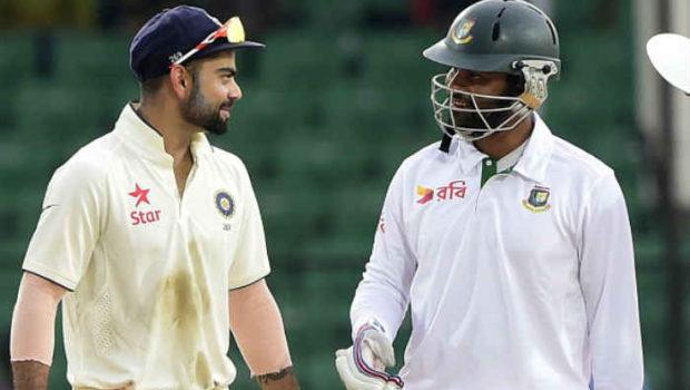 Virat Kohli and Tamim Iqbal