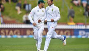 Keshav_Maharaj_celebrates_the_wicket_of_Tim_Southee