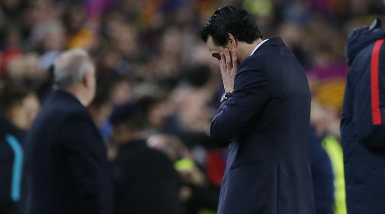PSG v Barcelona