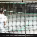 A game of Real Tennis in progress
