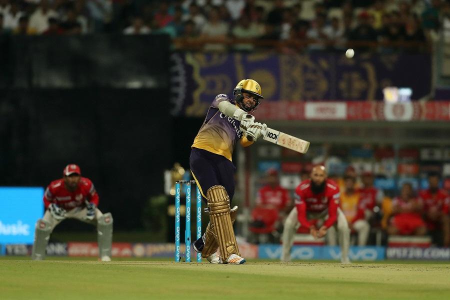 Sunil Narine of the Kolkata Knight Riders