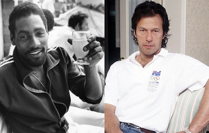 Javed Miandad, Imran Khan and Abdul Qadir