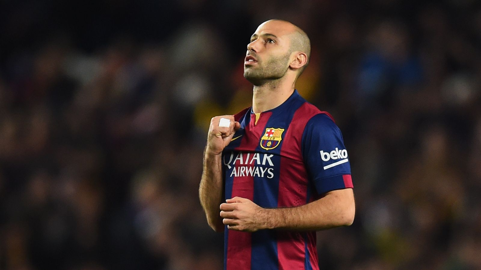 Did Mascherano score first and last goal for Barcelona