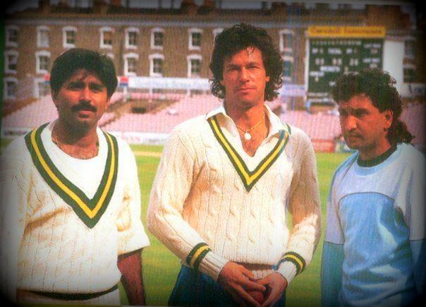 Javed Miandad, Imran Khan and Abdul Qadir