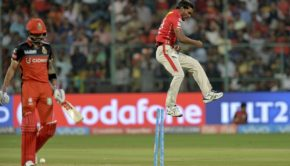 Royal Challengers Bangalore captain and batsman Virat Kohli