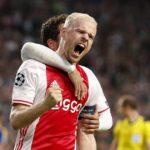 Davy-Klaassen-of-Ajax-celebrates-a-goal-against-FK-Rostov