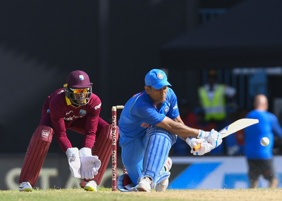 4th ODI match between West Indies and India at Sir Vivian Richards Cricket Ground