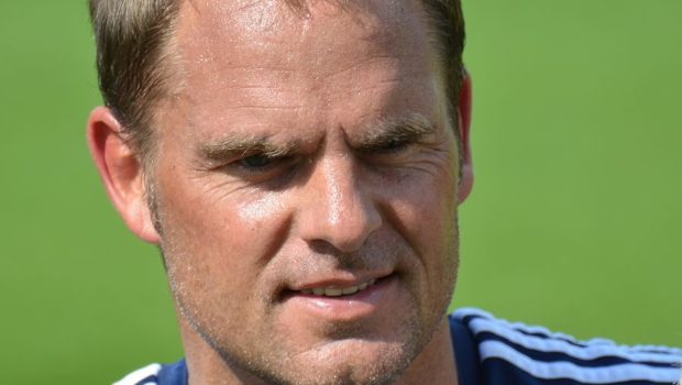 Double duty for Frank de Boer at Crystal Palace