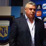 Newly elected President of Argentina's Football Association (AFA), Claudio Tapia