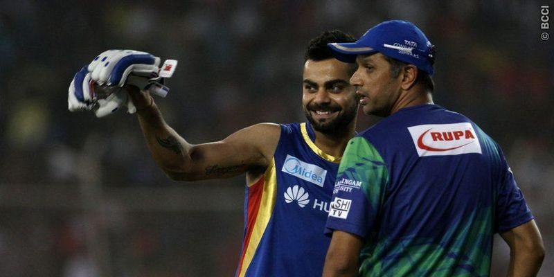 Dravid and Kohli