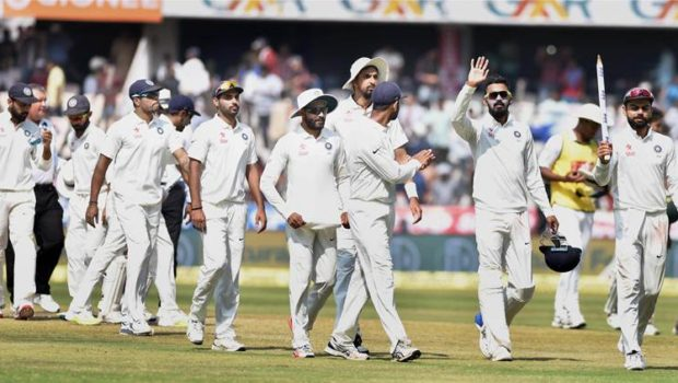 India win the Test against Bangladesh
