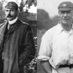 Sydney Barnes and Jack Hobbs