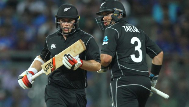 Tom Latham and Ross Taylor