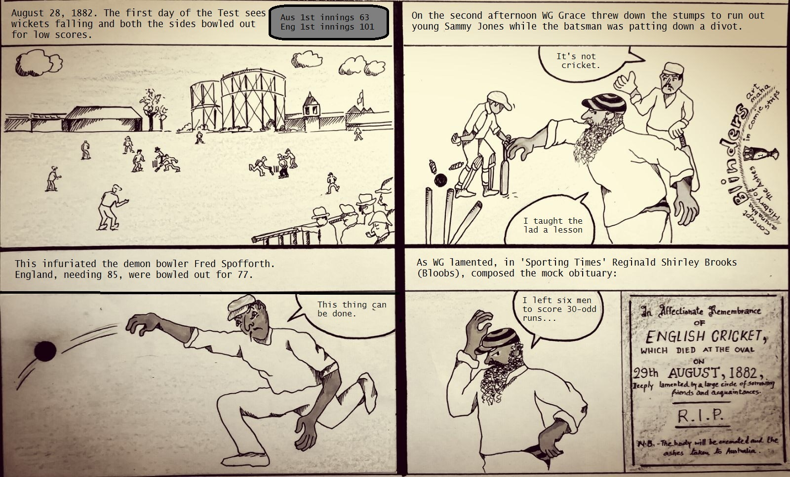 Strip 1- Birth of The Ashes