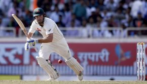 Australia's Shaun Marsh plays a shot