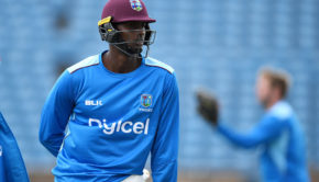 Jason holder During practice