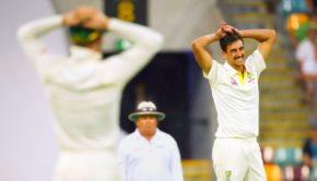 Australian pace bowler Mitchell Starc