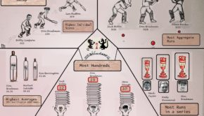 Batting infographic