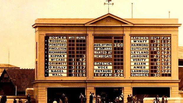 Ashes Scorecard