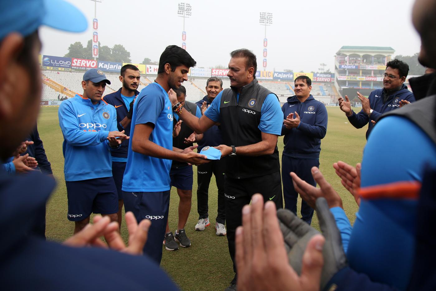India S Major Task Nurturing Of 18 Year Old Washington Sundar Cricketsoccer