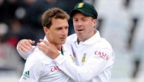 Dale Steyn and AB de Villiers