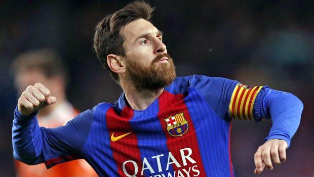 Messi off Barcelona