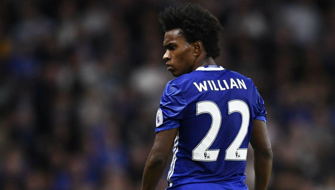 Willian é peça fundamental no Chelsea de hoje e querido pela torcida
