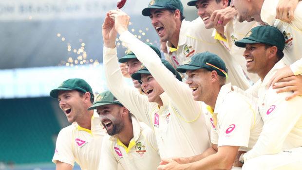 Australia winning Ashes