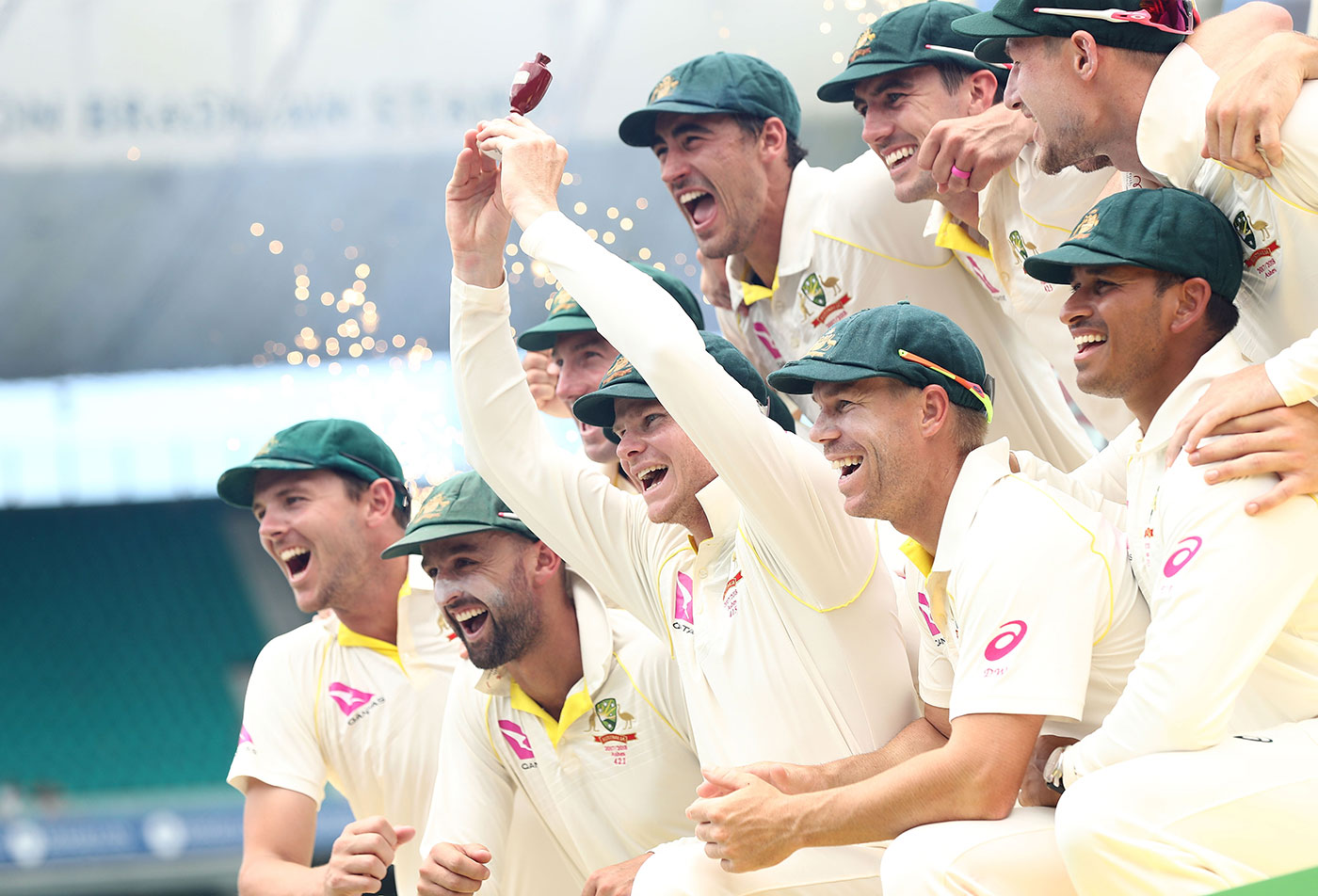 Australia winning Ashes