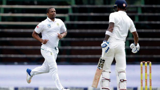 South Africa's bowler Vernon Philander