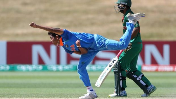 India youth bowlers