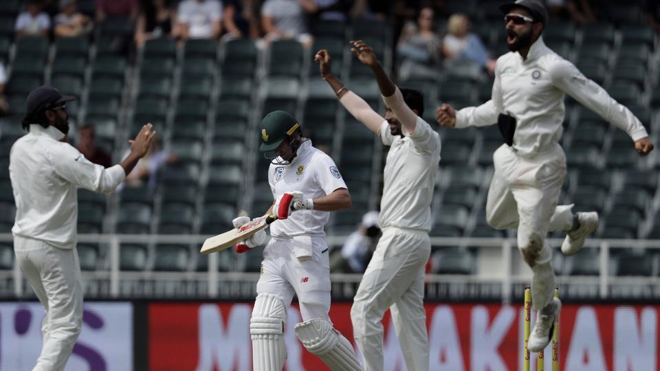 South Africa v India Test