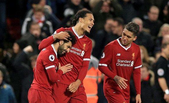 Liverpool and Tottenham