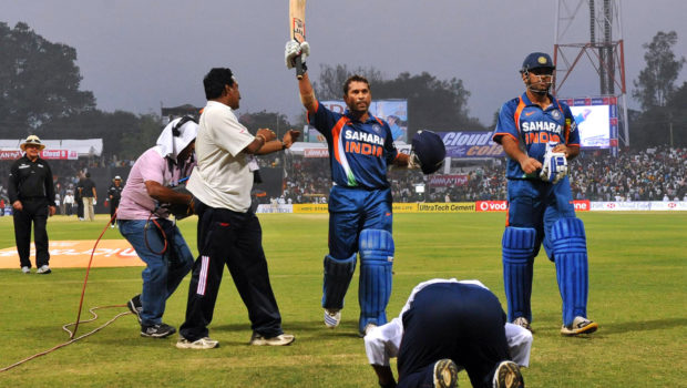 Sachin Tendulkar double hundred