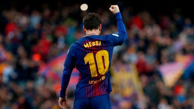 Unstoppable Leo Messi carries Barcelona towards Treble dream