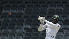 South Africa's batsman Kagiso Rabada
