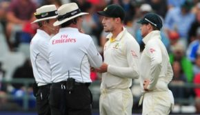 A Test match overshadowed by sandpapergate