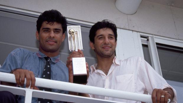 Wasim Akram and Waqar Younis