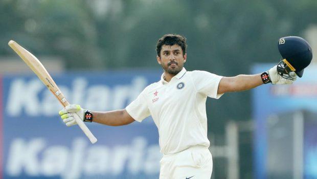 Karun Nair after triple hundred