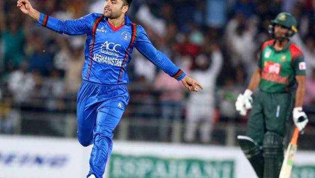 Afghan cricket player Rashid Khan