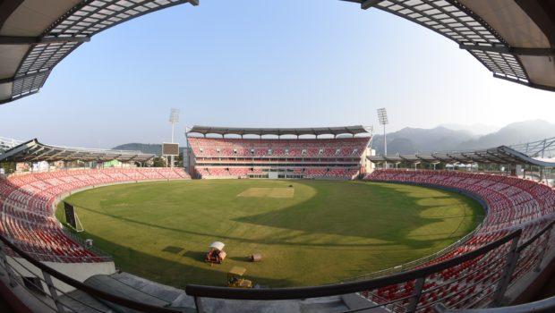 Rajiv Gandhi International Cricket Stadium in Dehradun